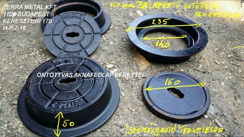 160 as csatorna fedel kerettel 140 nyilas h50mm b125kn en124 cast iron cover