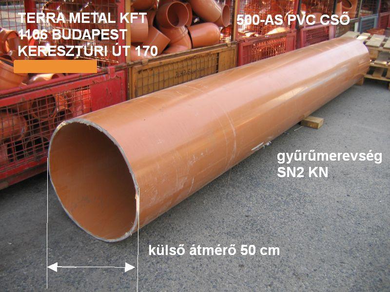 Pvc cső 500 mm